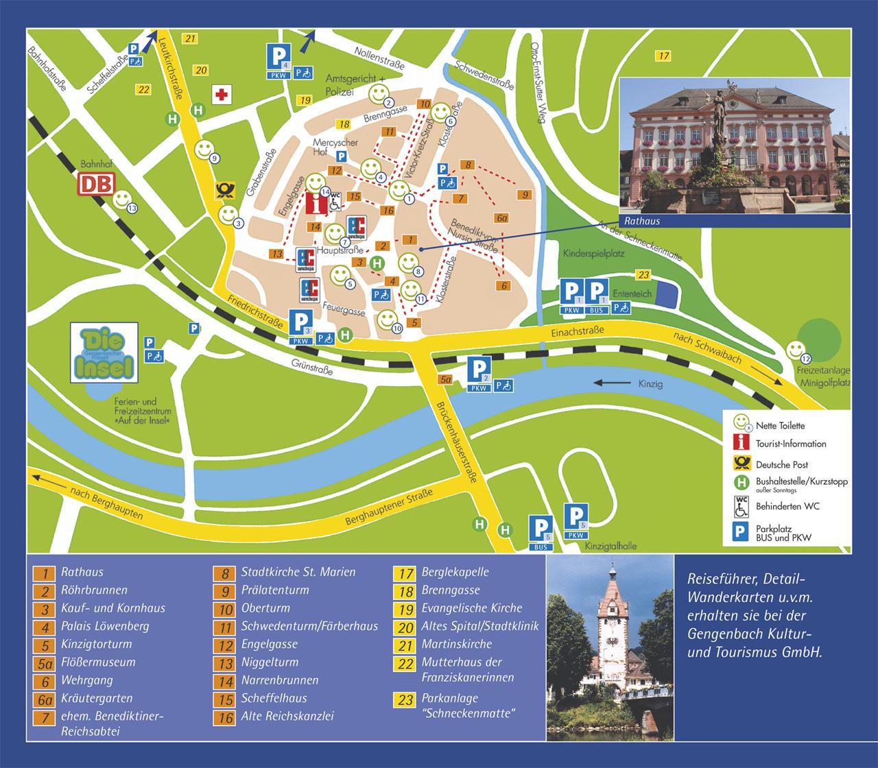 Gengenbach-Tourist-Map
