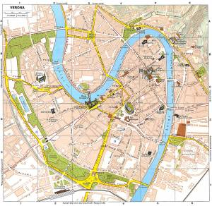 Verona-Italy-Tourist-Map
