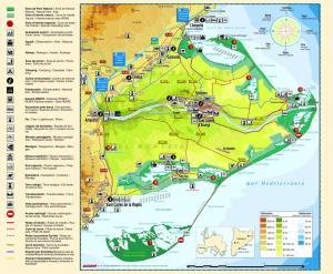 mapa-turístic-del-Delta-de-lEbre