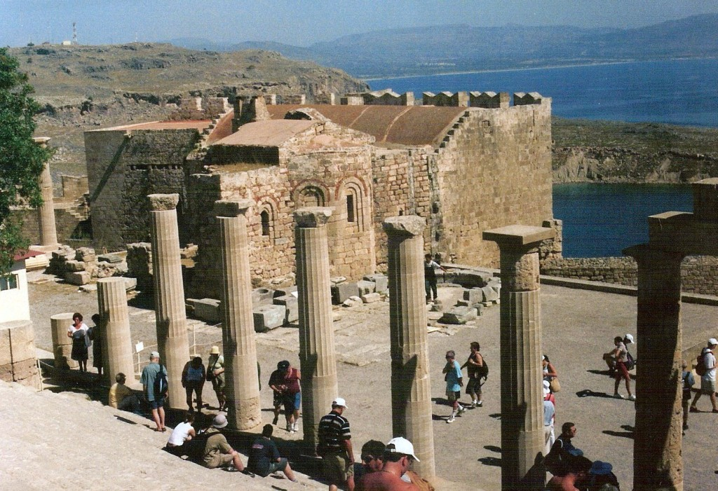 Templo Dórico de Atenea Lindia