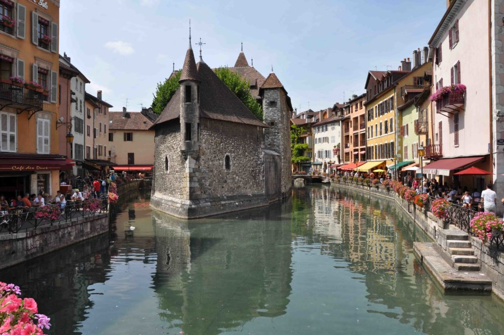 Annecy, la Venecia de los Alpes