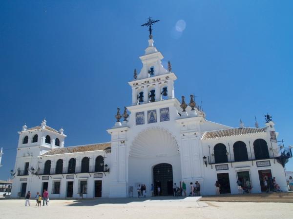 La aldea de El Rocío