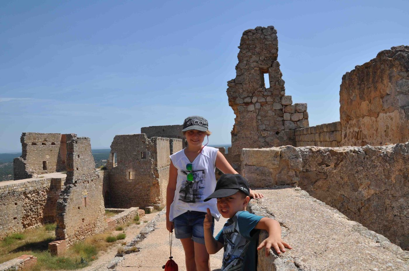 La fortaleza Califal de Gormaz, la mas grande de Europa