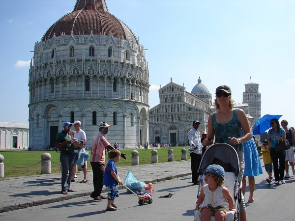 La Piazza dei Miracoli de Pisa