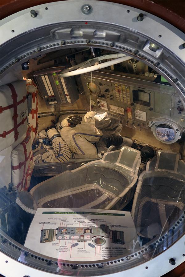 la nave espacial Soyuz