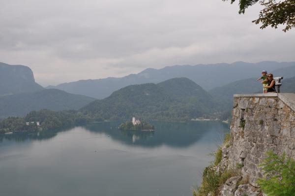 El lago bled de Eslovenia