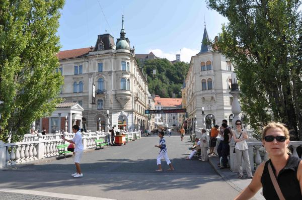 Ljubljana, dragones en Eslovenia