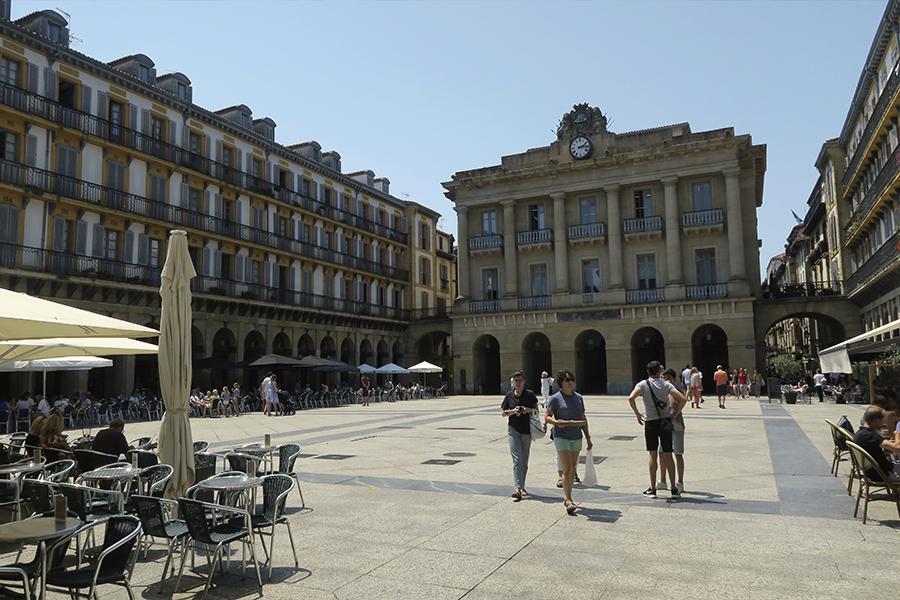 Plaza Porticada de la Constitución